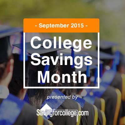 Celebrate College Savings Month!