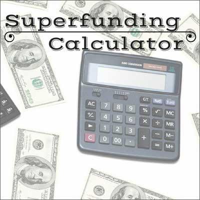 A super calculator for 529 superfunding
